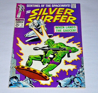 Silver Surfer 2 1968 Silver Age NICE Copy