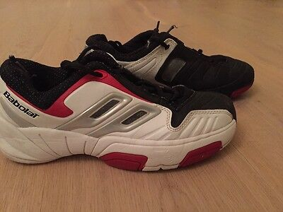 Babolat Tennis Shoes Trainers Size 5 Boys Or Ladies