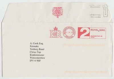 Gb 2007 Cover Buckingham Palace To Kidderminster