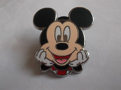 Disney's Mickey Mouse Head In Hands Pin Badge