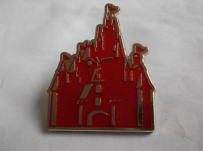 Disney's Red Castle Pin Badge Limited Edition 300