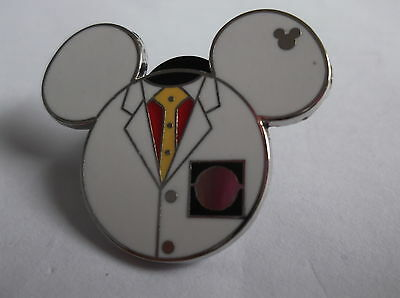 Disney's Doctor Mickey Mouse Head Pin Badge