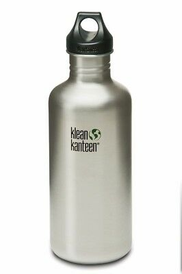 Klean Kanteen - Classic 1182ml Brush Stainless - Loop Cap- Water Bottle