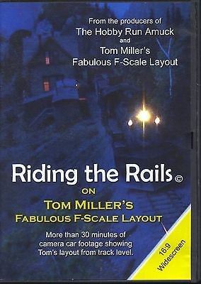 Riding the Rails on Tom Miller's Fabulous F-Scale Layout (DVD, 2009)