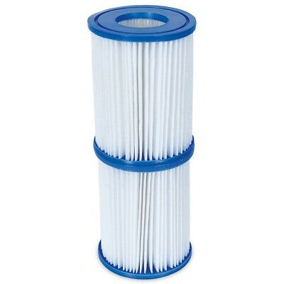 Bestway - Filter Cartridge Size 2 - 2 PACK - Pool/Spa Filter Cartridges