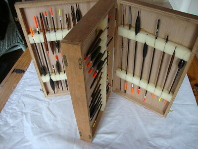 VERY GOOD ORIGINAL 1970s VINTAGE BOX FISHING FLOATS INC. BILLY LANE/IVAN MARKS