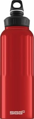 Sigg - Wide Mouth Bottle Traveller Red - 1.5L- Aluminum Water Bottle