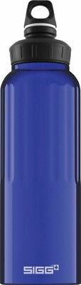 Sigg - Wide Mouth Bottle Traveller Dark Blue - 1.5L- Aluminum Water Bottle