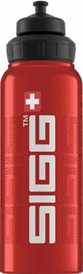 Sigg - Wide Mouth Bottle Siggnature Red - 1.0L- Aluminum Water Bottle
