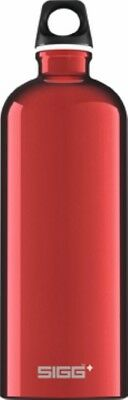 Sigg - Traveller Red - 1.0L- Aluminum Water Bottle