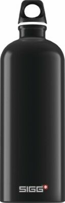 Sigg - Traveller Black - 1.0L- Aluminum Water Bottle