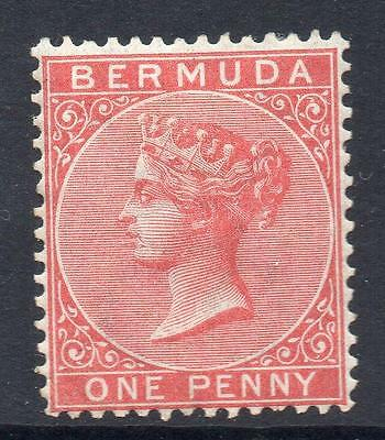 BERMUDA SG 1 1865 Mint With Gum No hidden faults   (cat £100) Good Looking Stamp