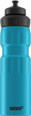 Sigg - Wide Mouth Sport Bottle Touch Blue - 0.75L- Aluminum Water Bottle