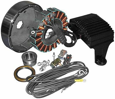 Three Phase 50 Amp Charging System for Harley Touring Models