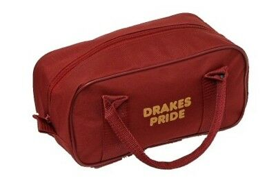 Drakes Pride - Two Bowl Zip Bag - Maroon- Bowls Carry Bag
