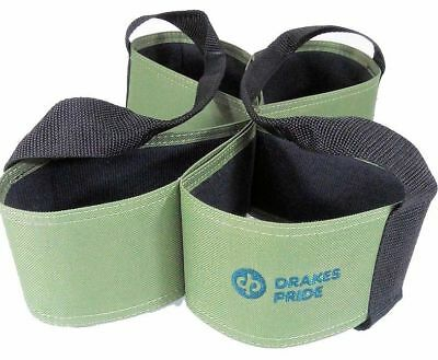 Drakes Pride - Four Bowl Carrier - Green- Bowls Carry Bag
