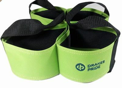 Drakes Pride - Four Bowl Carrier - Lime- Bowls Carry Bag