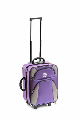 Drakes Pride - Trolley Bag - Purple- Bowls Trolley Bag Set