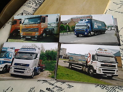 100 Assorted Volvo Truck Photos (Lot 15)