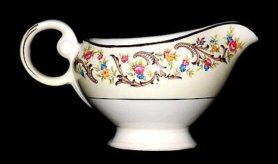 VINTAGE Taylor Smith & Taylor Scroll Border Porcelain Creamer, # 1797, Perfect!