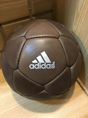 New ADIDAS Match Ball Of FIFA World Cup-Original Leather Football-Hand Stitched