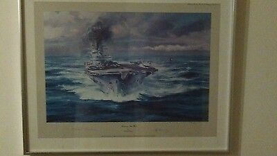 Robert Taylor Steaming Into the Wind Limited Edition Signed Print