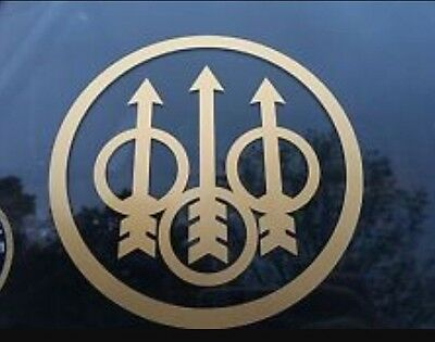 Beretta STICKERS  X4 70mm. Hunting Skeet Clay PIGEON Shooting Car Jeep Sticker