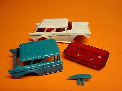 afx 57 nomad slot car body and parts