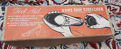 vintage 1960's 1970's home shoe stretcher in original box