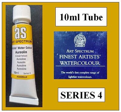 ART SPECTRUM FINEST ARTIST WATERCOLOUR 10ml TUBE AUREOLIN SERIES 4 DUCKPOND