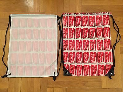 Coca Cola  Draw String Back Sack Backpack NEW!!!!!! you are buying 10 pieces