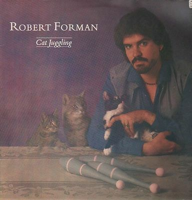 Robert Forman Cat Juggling Bellaphon Vinyl LP