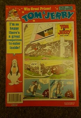 Tom & Jerry comic No.13 S.O.R 1992 turner ent. Co.