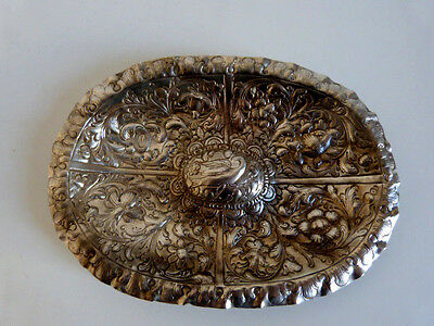 Ancient sterling silver tray spanish