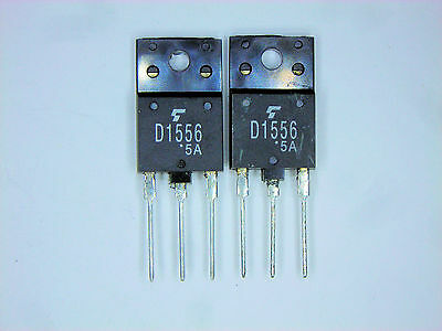 2SD1556 Horiz Out w//Damper Diode LOT OF 2