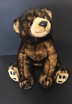 """Toys R Us Exclusive Plush 16"""" Baby Brown Bear Cub Stuffed Animal Alley Toy 2000"""