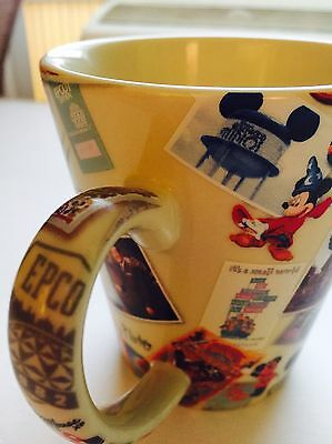 Disney Parks Coffee Mug Retro NEW Mickey