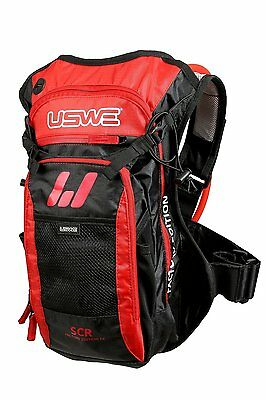 USWE F4 Pro hydration backpack 3-litre Red motorcycle enduro MTB 201210
