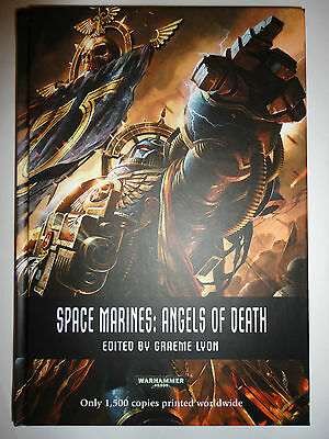 Warhammer 40K Games Day 2013 Space Marines Angels of Death Ltd Ed of 1500 Signed