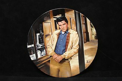 """ELVIS PRESLEY ~ """"THE KING OF CREOLE""""  #1 IN THE YOUNG AND WILD SERIES ~ Plate"""