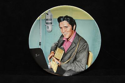 """ELVIS PRESLEY ~ """"A STUDIO SESSION""""  #6 IN THE LOOKING AT A LEGEND SERIES ~ Plate"""