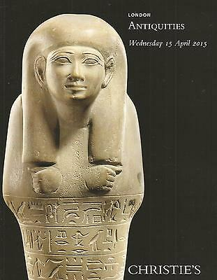 Christie`s Catalogue   Antiquities   2015  Egyptian