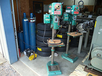 "Powermatic Drill Press Model 1150 3/4 hp 15"" Variable Speed Drive Head"