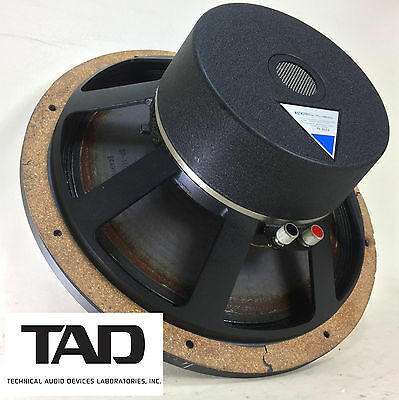 "TAD Model TL-1601B 8-ohm 15"" LF Loudspeaker, Fully Tested DCR: 6.5 - See Photos!"