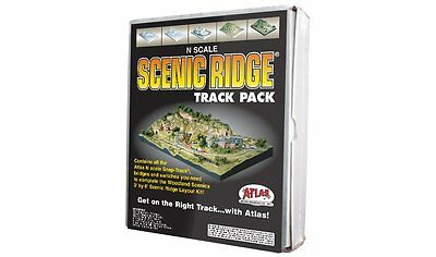 Atlas 2588, N Scale Track Pack for Woodland Scenics Scenic Ridge Layout Kit