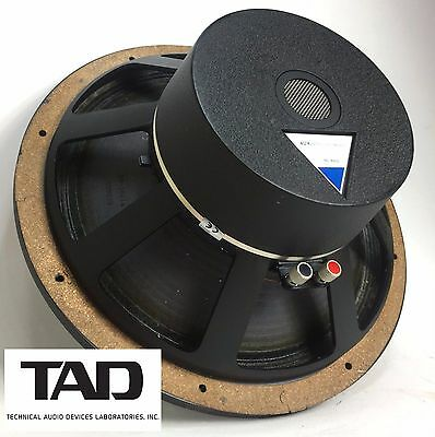 "TAD Model TL-1601B 8-ohm 15"" LF Loudspeaker, Fully Tested DCR: 6.7 - See Photos!"
