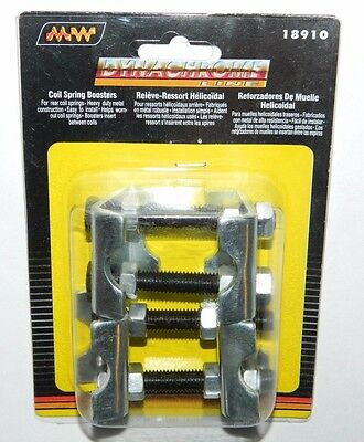 New Pair Dynachrome 18910 Coil Spring Boosters - Metal - Clamp Style