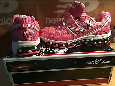 NEW 2014 Run Disney Women's Minnie Mouse Sneakers Shoes Trainers 5.5 B