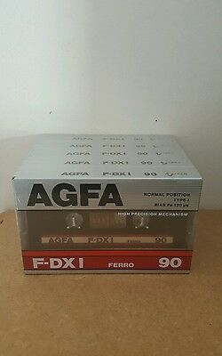 AGFA F-DX I 90 (5 Pack) :1987-89 : Made in Germany