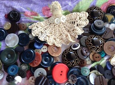 vintage assorted button collection